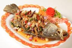 Ryba z ziele Fotografia Stock