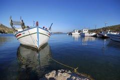 rybacy łódź Zdjęcie Royalty Free