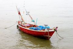 Rybacy łódkowaci fotografia stock