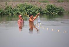 rybacy Zdjęcie Stock