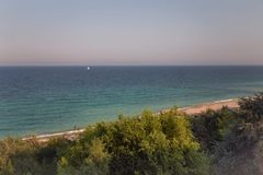 Rybacy na morzu Zdjęcia Stock