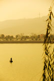 Rybacy od Xiangjiang, Chiny Fotografia Stock