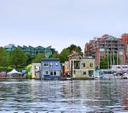 Rybaków domy Zdjęcie Stock