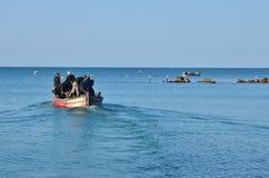 Rybaków iść łowić Obraz Royalty Free