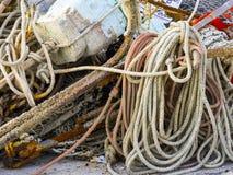 Rybaków narzędzia, Conero, Marche, Włochy Obraz Royalty Free