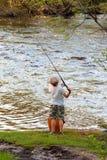 rybaków potomstwa Obrazy Stock