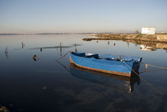 Rybak łódź Zdjęcie Stock