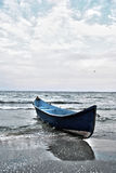 Rybak łódź Zdjęcia Royalty Free