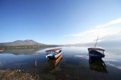 rybak łódź Fotografia Royalty Free