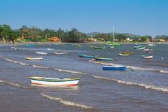 Rybak łódź w Buzios Obraz Royalty Free