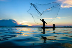 rybak obraz royalty free