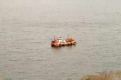 Rybak łódź Zdjęcie Royalty Free