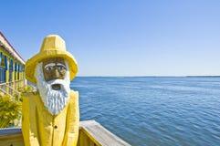rybak drewniany Zdjęcie Royalty Free