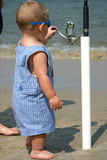 rybak dziecka Zdjęcia Royalty Free
