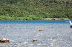 rybak muchy hondurasu Zdjęcie Royalty Free