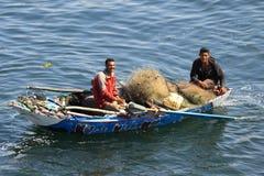 Rybak na Nil Zdjęcie Royalty Free