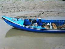 rybak, niebieski Fotografia Royalty Free