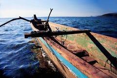 rybak łodzi Zdjęcia Royalty Free