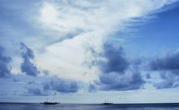 Rybak łodzie Zdjęcia Stock