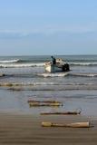Rybak przy morzem Obrazy Royalty Free