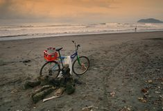 rybak roweru, s zdjęcia royalty free