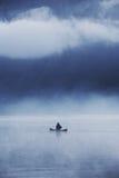 rybak samotny Zdjęcie Royalty Free