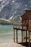 Rybak W górach Fotografia Stock
