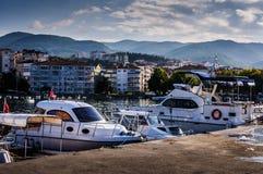 Rybak zatoka Yalova Turcja Zdjęcie Stock