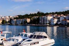 Rybak zatoka Yalova Turcja Obrazy Royalty Free
