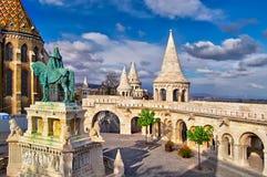 Rybaka bastion w Budapest fotografia royalty free