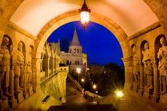 Rybaka bastion w Budapest, Węgry Zdjęcie Royalty Free