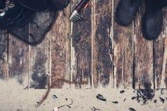 Rybaka boardwalk bohatera chodnikowiec zdjęcia stock