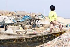 rybaka hindusa potomstwa Obraz Royalty Free