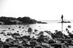 Rybaka morze Obraz Stock