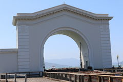 Rybaka nabrzeże jest sąsiedztwem popularnym atrakcją turystyczną w San Fransisco i, Kalifornia Obraz Royalty Free