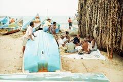 rybaka odpoczynek Obraz Royalty Free