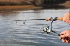 rybaka przędzalnictwo Zdjęcia Royalty Free