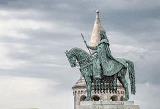 Rybaka ` s bastion, Buda kasztel, Budapest Zdjęcie Royalty Free