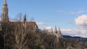 Rybaka ` s bastion w Budapest zbiory wideo