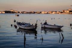 Rybaka schronienie Na Starym Marina Fotografia Stock