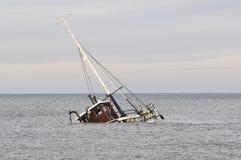 Rybi łódkowaty wrak Obraz Royalty Free