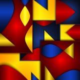 Rybi abstrakta tło Obraz Royalty Free