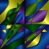 Rybi abstrakta tło Obrazy Royalty Free
