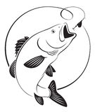 Rybi bas ilustracji