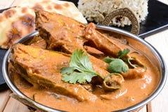 Rybi curry Zdjęcia Royalty Free