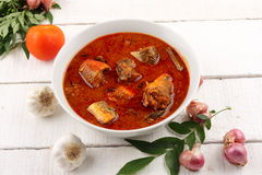 Rybi curry Obrazy Stock