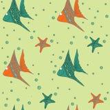 rybi deseniowy bezszwowy Zdjęcia Stock