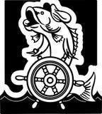 Rybi kapitan Zdjęcia Royalty Free