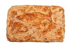 Rybi kulebiak odizolowywający zdjęcie royalty free
