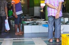 rybi Maldives samiec rynek zdjęcie stock